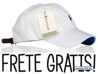 9e8647def8c4a Boné Polo Ralph Lauren Frete Gratis! tom Branca Original!