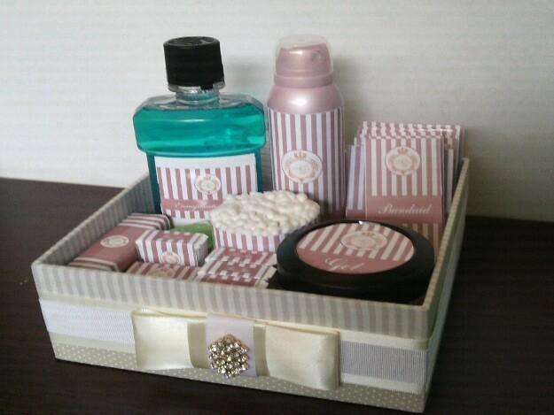 Kit Toalete Casamento Brasilia : Kit para banheiro toalete personalizado da floratta