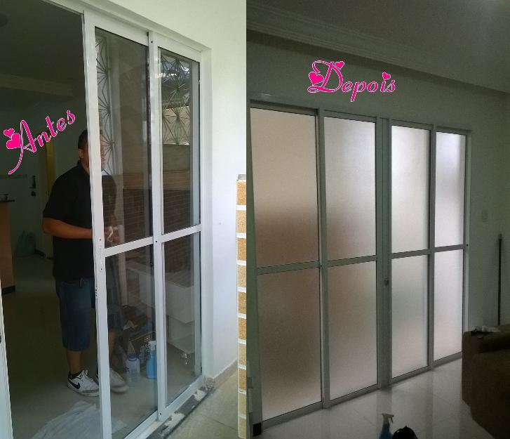 Pelicula adesivo jateado para portas de vidro vazlon brasil for Adesivos p porta de vidro