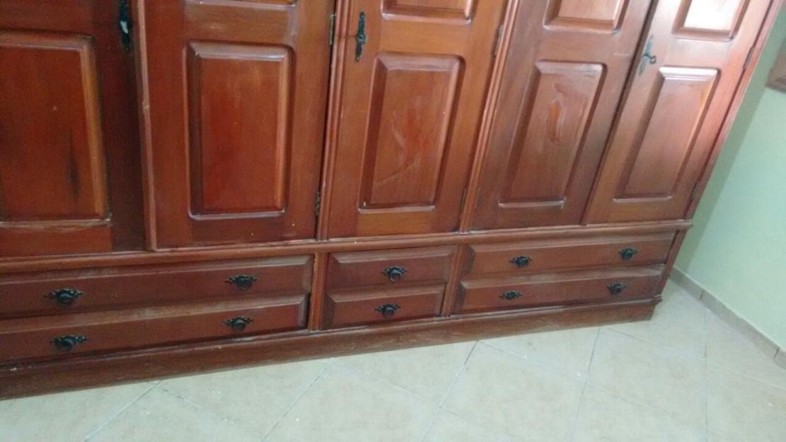 Adesivo De Parede Wolverine ~ armario duplex portas em madeira padrao mogno Vazlon Brasil
