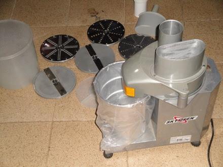 Processador de alimentos industrial usado