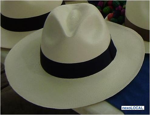 07ac3c39fa814 Chapéu Panamá Clássico Fino Montecristi - Aba Longa Ou