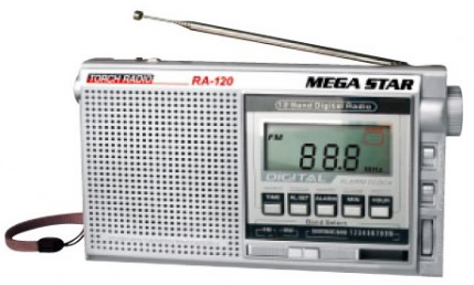 Radio Portatil Mega Star RA- Banda Digital Grande -