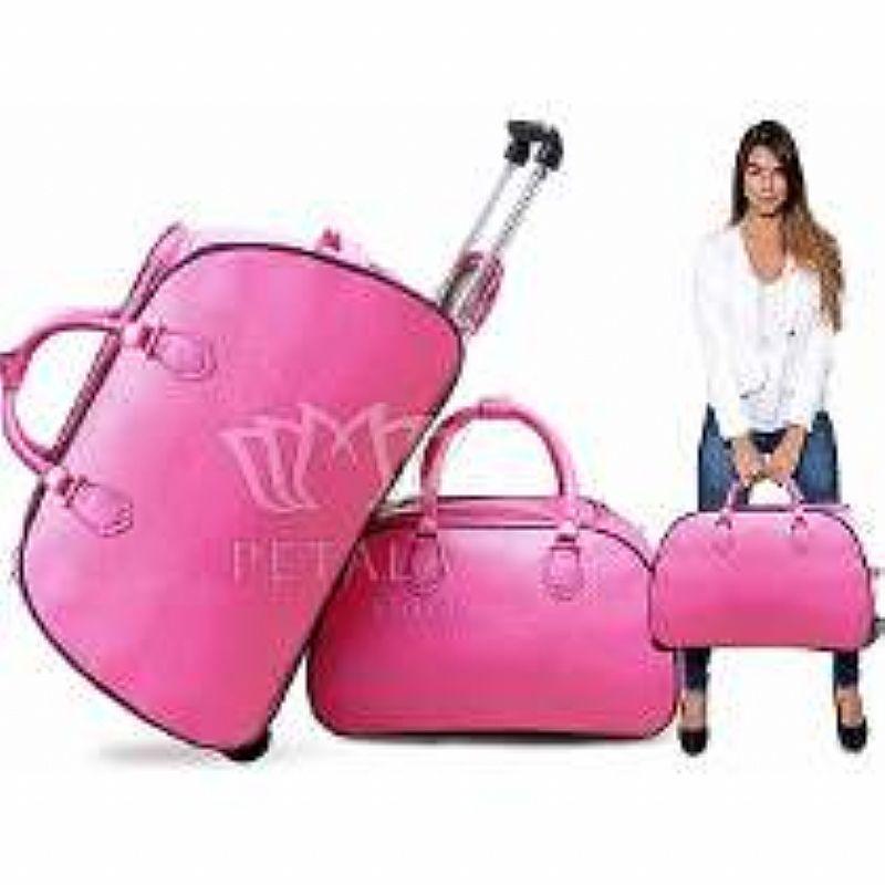 Bolsa De Viagem Feminina Rosa : Mala viagem com rodinha quiksilver ofertas vazlon brasil