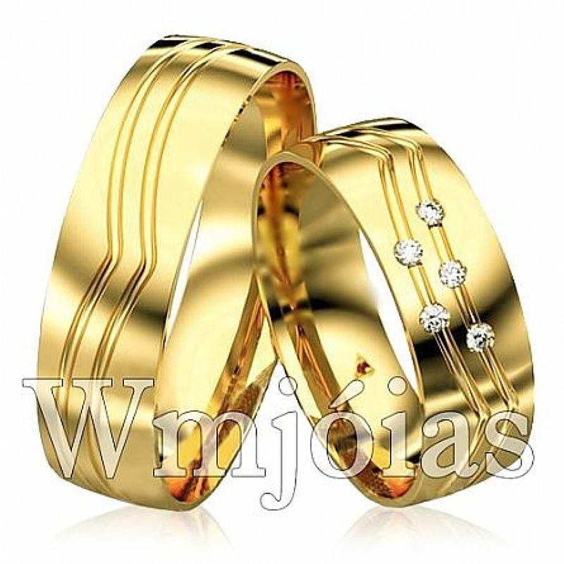 aliancas casamento em ouro franca joias e bijuterias 7814854435