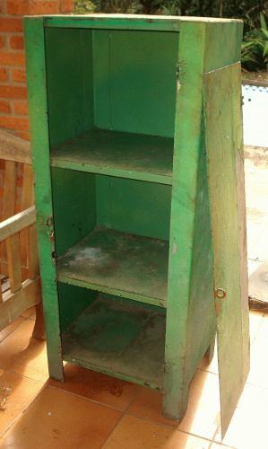 Armario De Ferro Antigo : Cristaleira armario antigo farmacia em ferro ofertas