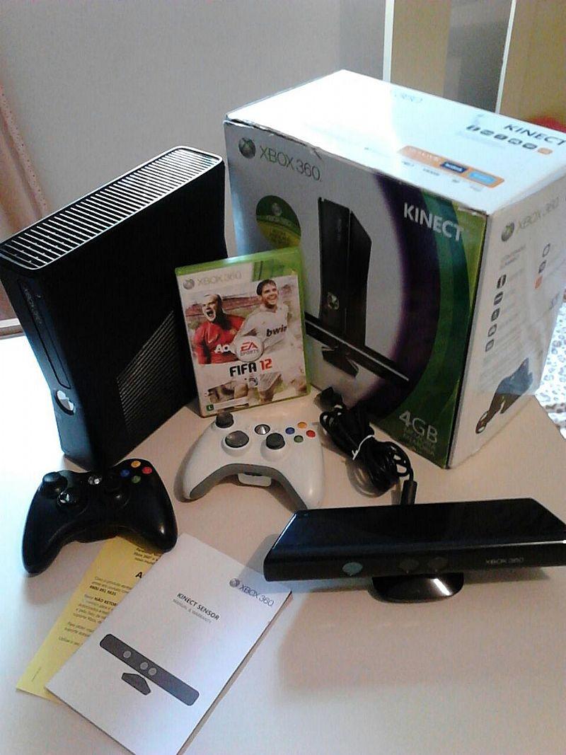 Volante microsoft xbox original vazlon brasil - Xbox 360 Slim Com Kinect A Venda Em Guarulhos