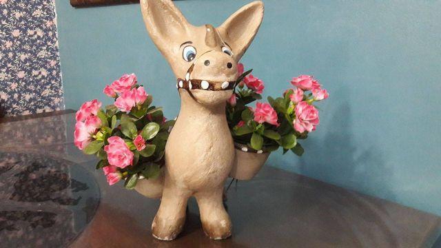 Enfeite De Jardin ~ carroca para uso ou lindo enfeite de jardim Vazlon Brasil