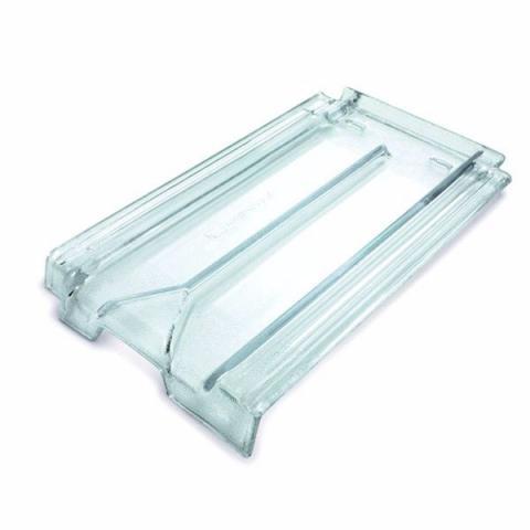 Telha de vidro francesa