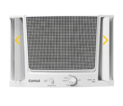 Controle remoto do ar condicionado brastemp
