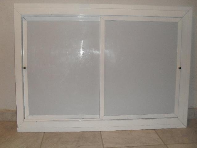 Porta de aluminio com acrilico para armario de pia - Armarios de aluminio ...