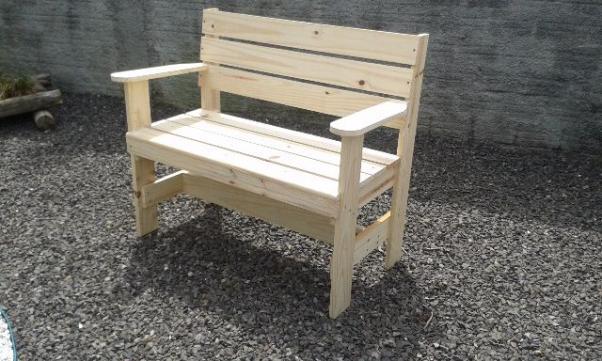 banco de jardim em pvc : banco de jardim em pvc:banco de jardim banco de jardim madeira de pinus 1 50 m de largura bem