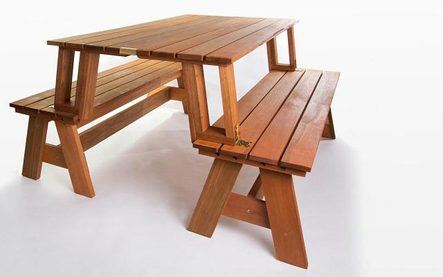 banco de madeira vende se banco de madeira maciça banco que vira mesa