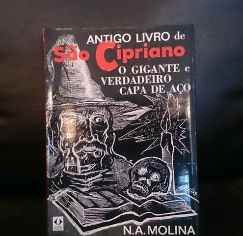 Antigo livro de são cipriano o gigante e verdadeiro capa de aço pdf