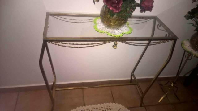 Aparador Ouro Velho ~ espelho de ferro ouro velho e aparador Vazlon Brasil