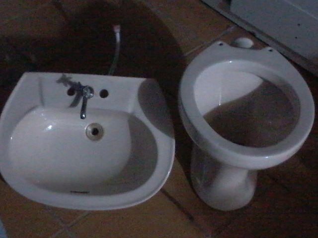 vaso pia de banheiro e de cozinha  Vazlon Brasil -> Jogo De Banheiro Pia E Vaso