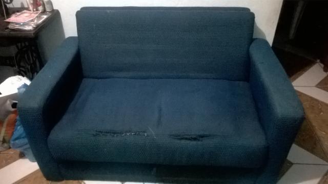 Sofa 3 modulos vira cama vazlon brasil for Sofa que vira beliche