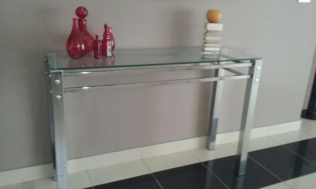 Armario Baixo Com Chave ~ aparador ou bar de madeira vidro e aco cromado Vazlon Brasil