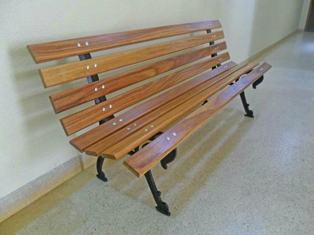 banco de jardim tamandua : banco de jardim tamandua:banco de jardim tamanduá banco tamanduá com 8 réguas de 7cm madeira