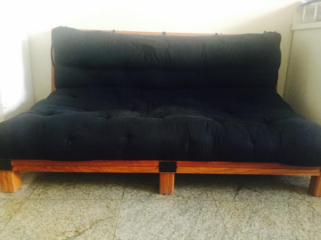 Sofa cama futon tok stok vazlon brasil for Sofa cama tipo futon