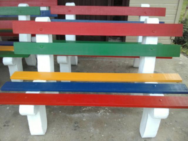 banco de jardim cavalo:Bancos de madeira para jardim, varanda, sítio,etc