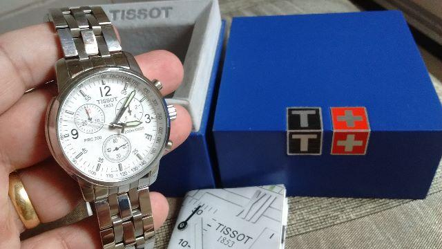 Tissot prc 200 T461 mens chronograph quartz
