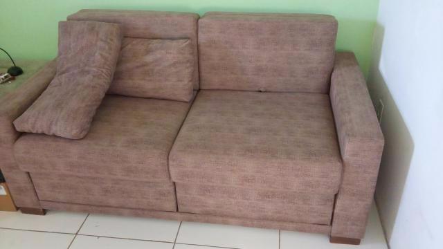 Vendo este sofa cama semi novo vazlon brasil for Cama imperial
