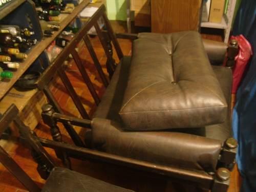 Jogo de sofas estilo colonial rustico fino 2 e 3 lugares ofertas vazlon brasil - Sofas estilo colonial ...