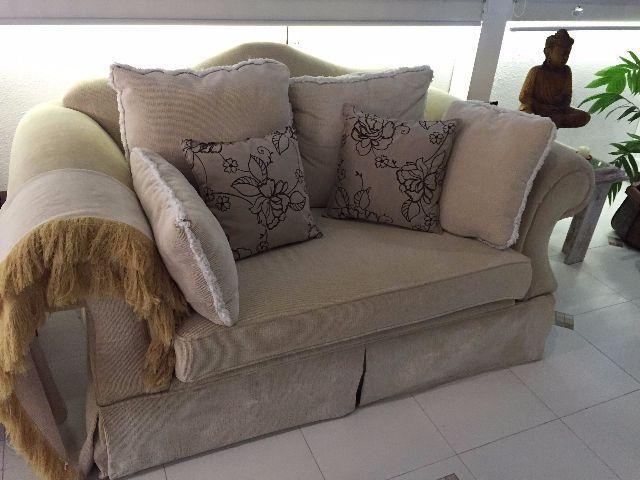 Sofa em excelente estado lindo vazlon brasil for Sofa estilo frances
