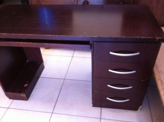 Mesa de escritorio estilo ingles vazlon brasil - Mesa escritorio colonial ...