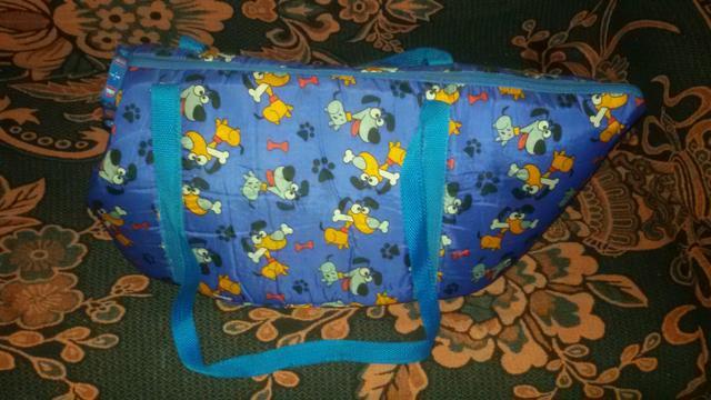 Bolsa De Transporte De Cachorro Pequeno : Barbada bolsa de transporte para cachorros nova vazlon