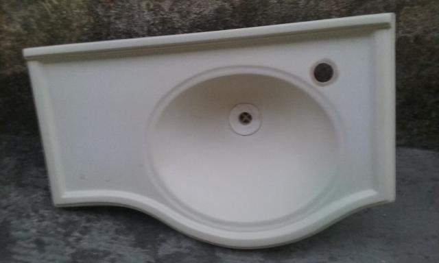 vaso sanitario acomplado e pia cm todos os acessorios  Vazlon Brasil -> Conjunto De Banheiro Vaso E Pia