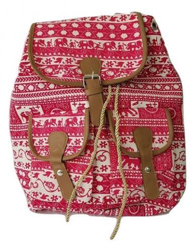 327c3c9ac mochilas em lona estampadas [ OFERTAS ] | Vazlon Brasil