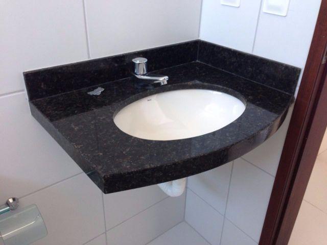 pia balcao de cozinha em granito verde ubatuba com armario  Vazlon Brasil -> Pia De Banheiro Granito Verde Ubatuba