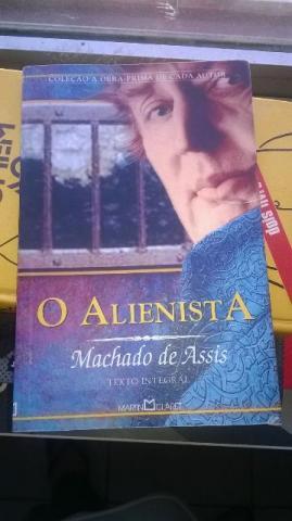 machado de assis livro o alienista r15 | Vazlon Brasil