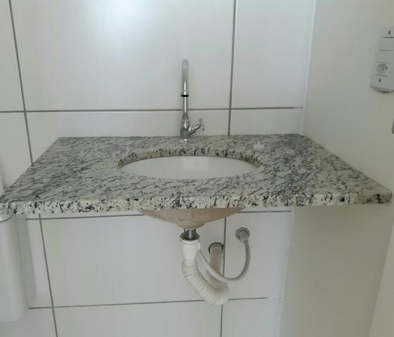 pia de banheiro bancada em granito  Vazlon Brasil -> Cuba Banheiro Amoedo