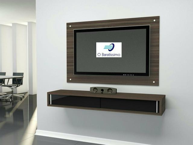 Modulo tv completo possui painel lindo rack nicho com - Modulo para tv ...