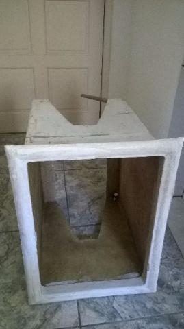 Caixa protetora para ar condicionado janela