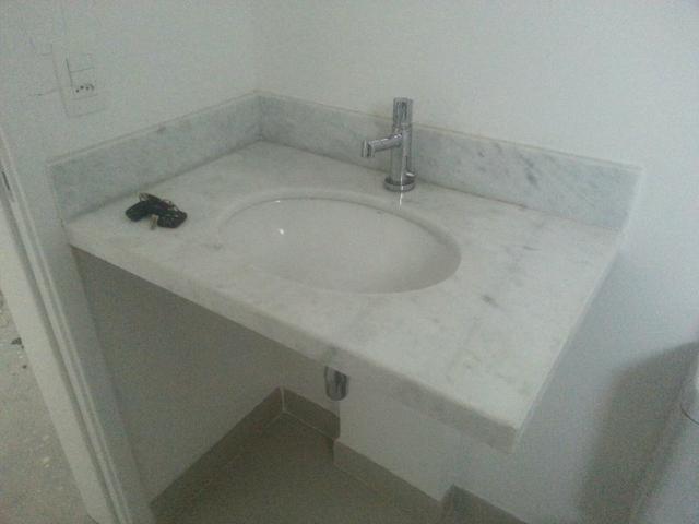 banheiro pia cuba e torneira deca marmore  Vazlon Brasil -> Cuba Pia Banheiro Deca
