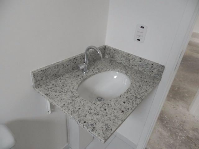 pedra granito cinza para pia de cozinha  Vazlon Bras -> Cuba Para Banheiro Com Pedra De Granito