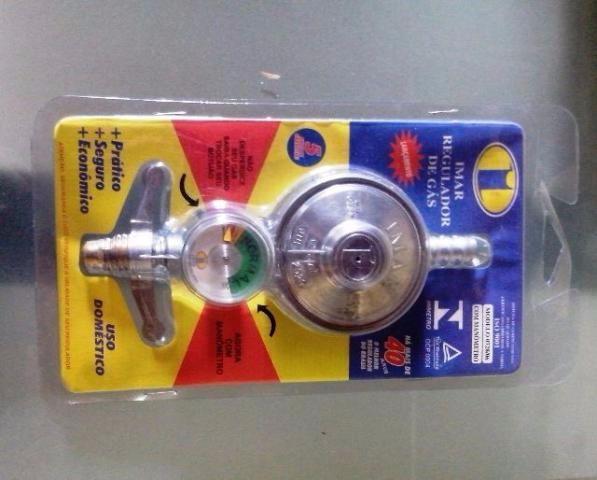 Registro regulador de gas com manometro imar mangueira - Regulador de gas ...