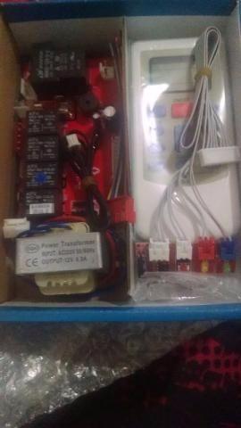 Placa universal para ar condicionado split