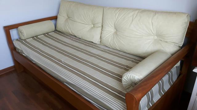 Sofa que vira cama comp madeira macica vazlon brasil for Sofa que vira beliche