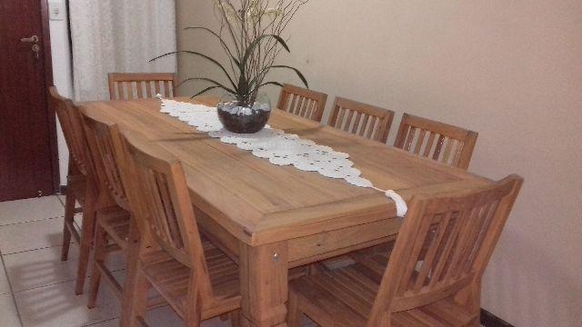Jogo De Sala De Jantar Em Madeira ~ de jantar jogo de sala de jantar 100 % peroba rosa mesa madeira de