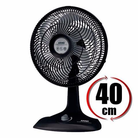 Ventilador arno turbo silencioso 40 cm