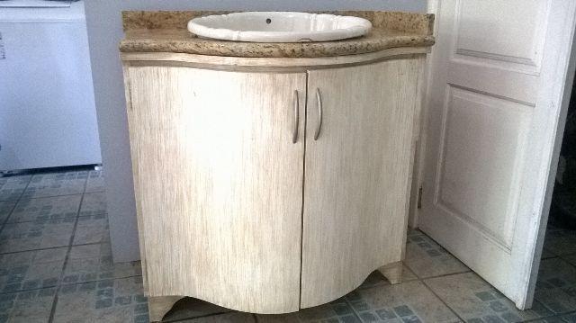 tampo de balcao mdf cor granito na caixa  Vazlon Brasil -> Pia De Banheiro Com Balcao