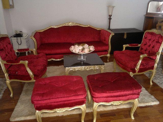 Sala De Estar Luis Xv ~ de sofá estilo luis xv lindo conjunto de sala de estar estilo luis xv