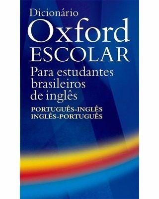dicionario oxford escolar da lingua inglesa | Vazlon Brasil