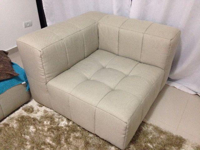 sofa soft modular estrutura em madeira pinus | Vazlon Brasil