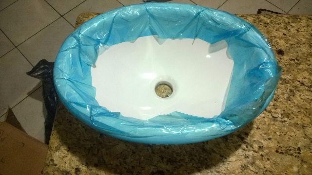 pia lavatorio cuba de embutir oval xcm branco l  Vazlon Brasil -> Cuba Para Banheiro Oval De Embutir